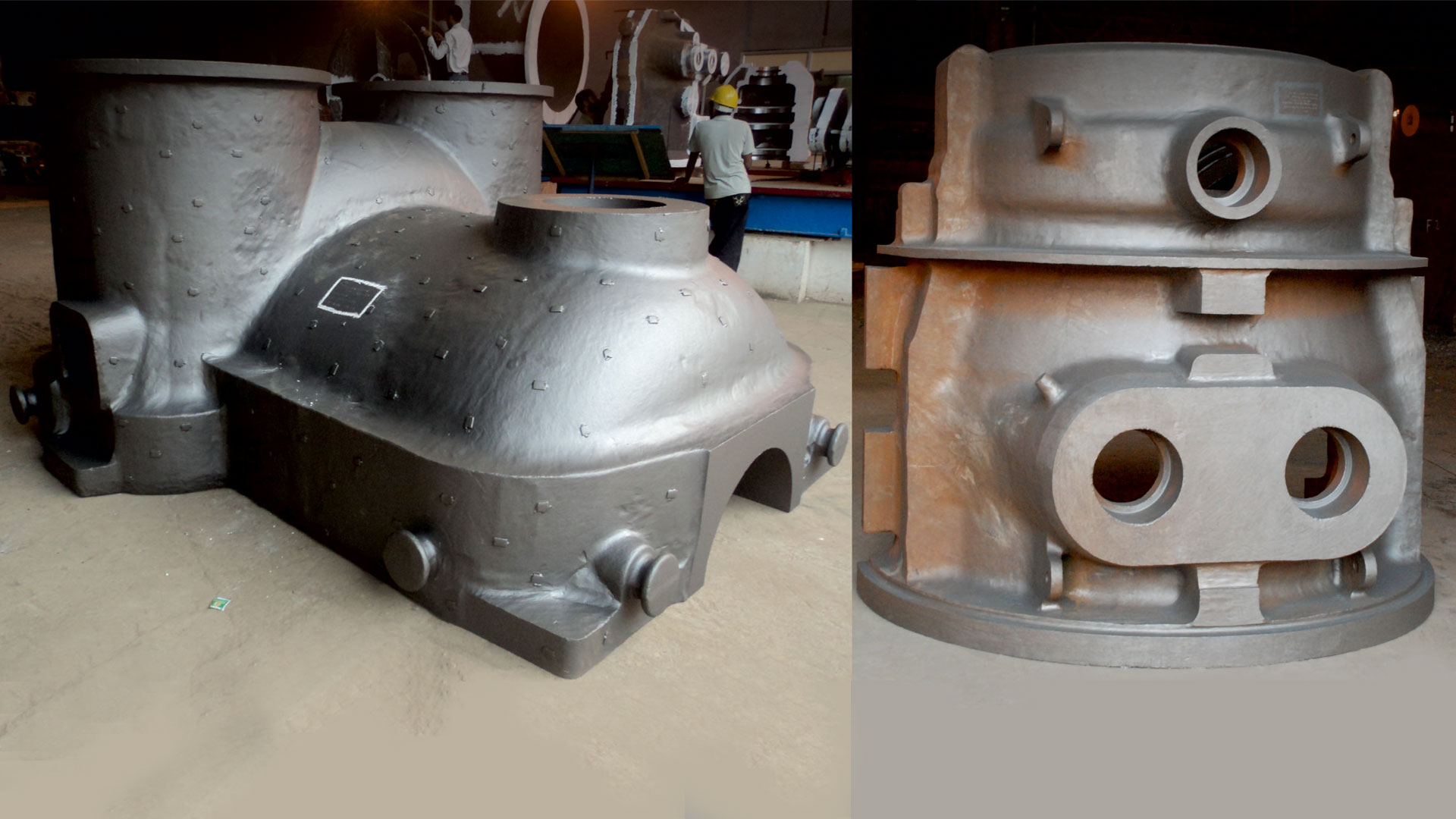 ISGEC Steam and Gas Turbine Castings Diaphragm Casting