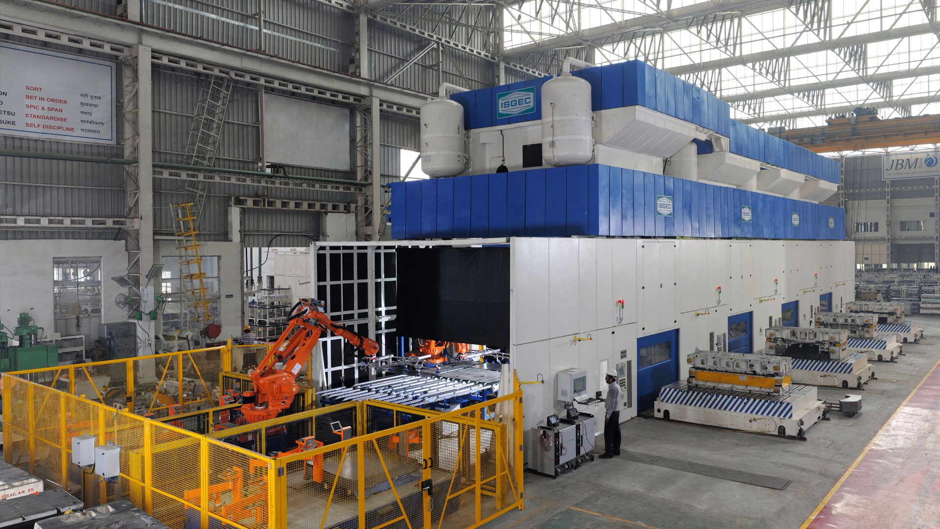 Isgec Heavy Engineering Heavy Engineering Equipment
